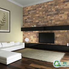 Contemporary Wallpaper by Cali Bamboo