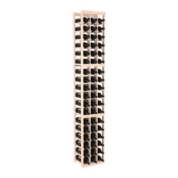 Wine Racks America - 3 Column Standard Wine Cellar Kit in Pine, White Wash + Satin Finish - Each wine cellar rack meets Wine Racks America's unparalleled fabrication standards. Modular engineering provides universal kit compatibility which enables connoisseurs to mix and match wine rack kits until you achieve a personally-defined wine bottle storage system.