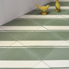 contemporary floor tiles by The Tile Gallery