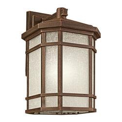 "Kichler - Kichler 9721PR Cameron Collection 1 Light 21"" Outdoor Wall Light - Kichler 9721 Cameron Outdoor Wall Light"