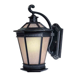 Dolan Designs - Dolan Designs 9790-68 Vintage Winchester Black Outdoor Wall Sconce - Dolan Designs 9790-68 Bronze Outdoor Lighting