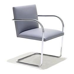 Knoll - Knoll | Tubular Brno Chair - Design by Ludwig Mies van der Rohe, 1930.