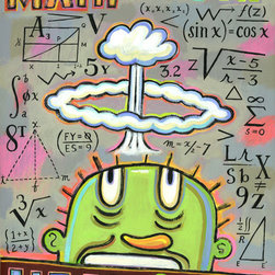 Hal Mayforth - Math Makes my Head Explode - Limited Edition