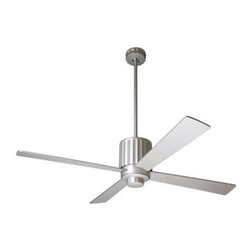 Flute Ceiling Fan with Optional Light by Modern Fan Company -