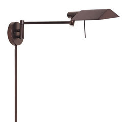"Sonneman - Sonneman 7013 E-Tenda 1 Light 8"" Height Plug-In Swing Arm Halogen Wall Sconce - Sonneman 7013 E-Tenda 1 Light 8"" Height Plug-In Swing Arm Halogen Wall SconceA sturdy, well built swing arm wall sconce that will provide the perfect amount of direct light where you need it.Sonneman 7013 Features:"