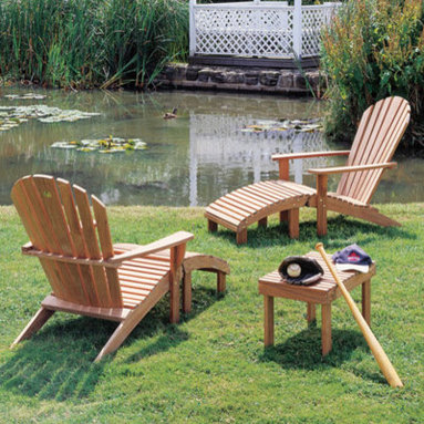 Barlow Tyrie - Barlow Tyrie Adirondack - Barlow Tyrie manufacturers an extensive range of outdoor furniture crafted from teak, all-weather wicker, stainless steel and aluminium. Their traditional and contemporary designs include deep seating chairs, dining chairs, tables, steamers, benches and swing seats.