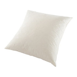 Ballard Designs - Ballard Basic Pillow Insert 20 inch - Pillow Cover Only. Pillow Insert With Cover. Essential Pillow Insert is filled with sumptuous down blend. Spot clean. Click to view:  .  .