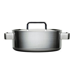 Iittala - Tools Casserole & Lid - 2qt - Iittala - Tools is a range of highly designed cookware created for people with a large appetite for life. Developed with the insight of professional chefs and material know-how, Tools offer a broad range of objects to add ease and control to all areas of cooking and serving. Perfect for even the most demanding occasion. The end result of this collaborative design process is a highly functional and attractive set of cookware that are versatile enough even for the most demanding chefs. The cooking casseroles have interior measuring scales and a compound multi-layer construction that distributes and retains heat evenly and are suited for all cook tops (Gas, Electric, Induction, etc). Oven & dishwasher safe.