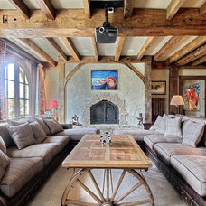 Traditional Sectional Sofas by Peggie Rhodes & Associates