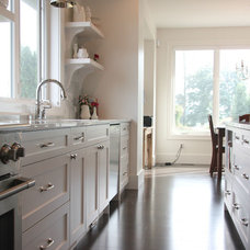 Modern Kitchen Cabinetry by Arts Custom Woodcrafting Inc.