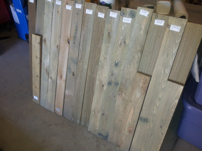 Cabin Barnwood Aging Cedar To Become Quot Faux Quot Barnwood