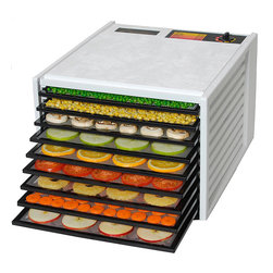 Excalibur - Excalibur 3900 Deluxe Series 9-tray Food Dehydrator - This 3900 deluxe series 9-tray food dehydrator from Excalibur features 9-trays for easy dehydrating of numerous things at once. The 7-inch 600-watt fan and adjustable thermostat make it easy to dehydrate with ease.