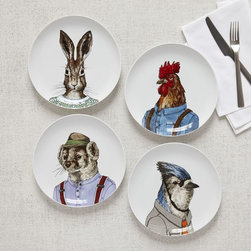 Dapper Animal Plate - These are just perfect for Easter. No need to say much more, other than they are so affordable too.