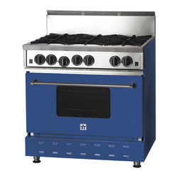 "36"" BlueStar Range in Violet Blue (RAL 5000) - RAL 5000"