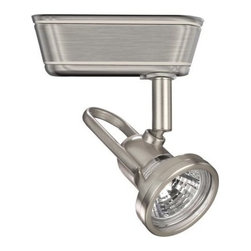 """WAC Lighting - WAC Lighting HHT-826 Low Voltage Track Heads Compatible with Halo Systems - 50W Single light track head for use with """"H"""" type connector. Equipped with a self contained electronic transformer. Available on 6"""", 12"""", 18"""", 36"""" or 48"""" inch extension rods (sold separately)."""