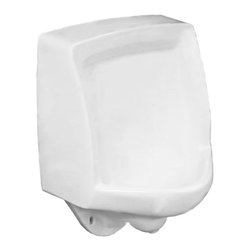 "Crane - Crane 7361 Embassy 3/4"" Back Spud Wall Mount Urinal - Includes 3/4"" (19 mm) back spud with 14"" (356 mm) lip, 2"" (51 mm) urinal outlet adapter, two (2) concealed hangers and bolts"