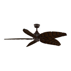 Fanimation - Fanimation MAD3255RS Louvre Rust Ceiling Fan - Fanimation MAD3255RS Louvre Rust Ceiling Fan