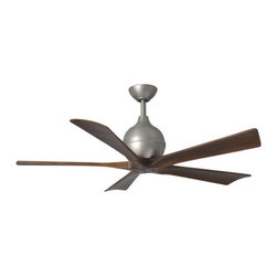 """Matthews Fan Company - Matthews Fan Company IR5 Irene 52"""" 5 Blade Ceiling Fan with Reversible Motor and - Features:"""