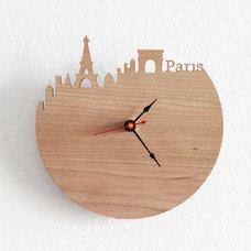 Contemporary Clocks by Etsy
