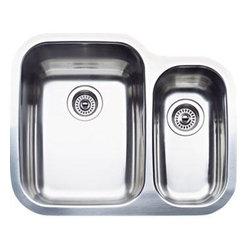 Blanco - Blanco Blanco Specialty Sinks Double Single Undermount Kitchen Sink, Satin - Blanco 511-967 Blanco Specialty Sinks Double Single Undermount Kitchen Sink, Satin