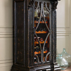 traditional wine racks by Horchow
