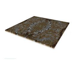 Mosaic Rainforest Gold - Material: Full color sandstone