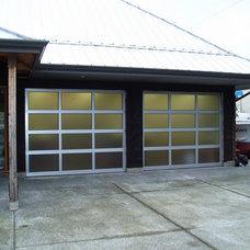 Modern Garage Doors And Openers by Harbour Door Services Ltd.