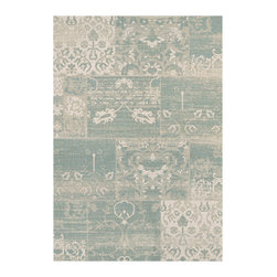 """Couristan - Afuera Country Cottage Rug 5569/0803 - 2' x 3'7"""" - The area rugs of the Afuera Collection offer an array of options that are perfect for any outdoor/indoor space in your home. Nestle these performance area rugs practically anywhere to achieve a fashionable, casual atmosphere that's easy to maintain. The nautical hues, including Ivory, Mist, Tan, Navy, Beige and Honey, are the perfect neutral to base your room decor around."""