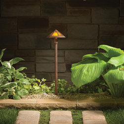 Kichler Lighting - Kichler Lighting 15450TZT Landscape 12v 1 Light Pathway Lighting in Textured Tan - This 1 light Landscape Path Light from the Landscape 12V collection by Kichler will enhance your home with a perfect mix of form and function. The features include a Textured Tannery Bronze finish applied by experts. This item qualifies for free shipping!