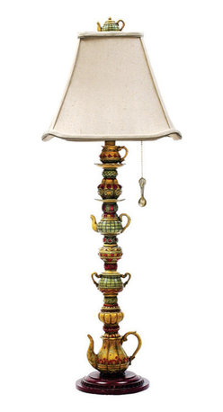 Dimond Lighting - Dimond Lighting Tea Service Candlestick Table Lamp in Burwell - Table Lamp in Burwell belongs to Tea Service Candlestick Collection by Dimond Lighting Lamp (1)