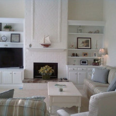 traditional family room by Interiors by Sherry, Sherry Smith