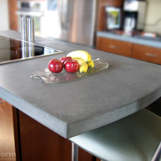 Contemporary Kitchen by Trueform Concrete