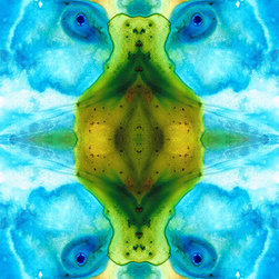 The Looking Glass Series - Abundant Life - Pattern Art by Sharon Cummings. Buy Fine Art Prints Online.
