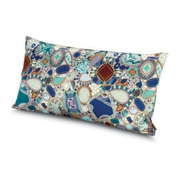 Missoni Home - Missoni Home | Perpignan Pillow 12x24 - Design by Rosita Missoni.