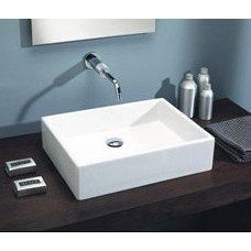 St Thomas Box 50 Vessel Sink 1350 200 01 White