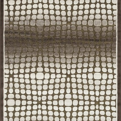 "Loloi Rugs - Loloi Rugs Halton Collection - Dark Brown / Beige, 3'-10"" x 5'-7"" - The colors are vivid and the transitional designs are appealing, but what really stands out in Halton is the details. Take a closer look (or zoom in) and you'll notice Halton was expertly designed with subtle shadings and intricate patterns to give it the appearance of a hand-crafted rug. Power loomed in Turkey, the viscose surface is raised against a chenille base, giving Halton an element of dimension and texture that adds character and enhances perceived value. Also, the viscose surface has an irresistible shimmer, which further adds to its sophisticated appearance."