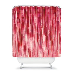 DENY Designs Jacqueline Maldonado Pixel Shower Curtain - Zoom in close for a good look at the distinctively modern DENY Designs Jacqueline Maldonado Pixel Shower Curtain. Color, color everywhere - you'll be right on top of the pixelated image. Bring a contemporary charm and peaceful sensibility to your bathroom with this shower curtain.About DENY DesignsDenver, Colorado based DENY Designs is a modern home furnishings company that believes in doing things differently. DENY encourages customers to make a personal statement with personal images or by selecting from the extensive gallery. The coolest part is that each purchase gives the super talented artists part of the proceeds. That allows DENY to support art communities all over the world while also spreading the creative love! Each DENY piece is custom created as it's ordered, instead of being held in a warehouse. A dye printing process is used to ensure colorfastness and durability that make these true heirloom pieces. From custom furniture pieces to textiles, everything made is unique and distinctively DENY.