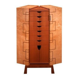 ecofirstart - Gentleman's Valet - This marvel of organization is a must-have for your eclectic bedroom. Ingeniously designed with a place for everything, it's crafted from an assortment of sustainable woods and inlaid on top with the image of a turtle as a symbol of protection.