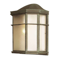 Trans Globe Lighting - Trans Globe Lighting 4484 VG Outdoor Wall Light In Verde Green - Part Number: 4484 VG