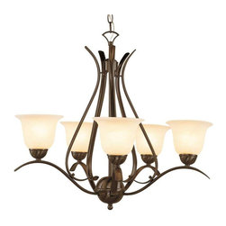 Trans Globe Lighting - Trans Globe Lighting PL-9285 ROB Chandelier In Rubbed Oil Bronze - Part Number: PL-9285 ROB