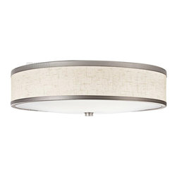 Kichler Lighting - Kichler Lighting 10824CP Energy Efficient Transitional Flush Mount Ceiling Light - Kichler Lighting 10824CP Energy Efficient Transitional Flush Mount Ceiling Light