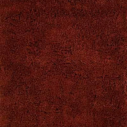 Momeni Rug - Momeni Rug Comfort Shag 4' x 4' Round CS-10 Cinnabar CSHAGCS-10CIB400R - A modern twist of the 1970's classic, the Comfort Shag Collection is perfect for the family room. Thick, plush pile and hand tufting makes these rugs a soft, luxurious accent in the modern home. Available in a wide range of color choices, the Comfort Shag Collection lends spirited style and coziness to the home.