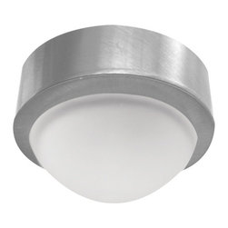 Elco - Elco E225 20W Single Light Mini Frosted Glass Dome Surface Mount Downlight - Elco E225 20W Single Light Mini Frosted Glass Dome Surface Mount DownlightElco's Surface Mount Mini downlights are an excellent source wherever a small powerful light is needed. The Mini lights may be recess-mounted. They can be dimmed with a low-voltage electronic dimmer. They can also be used with remote transformers. Elco has designed a wide variety of trims to go with these mini downlights.Specifications: