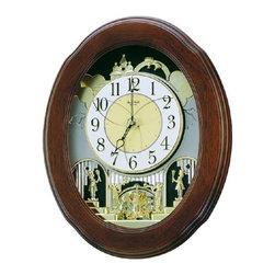 Rhythm - Nostalgia Legend Magic Motion clock - The Nostalgia Legend is a state-of-the art creation comprised of 18 melodies