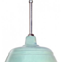 Barn Light Electric Co. - Benjamin® Bomber Porcelain Stem Mount Light -
