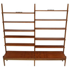 Midcentury Bookcases by EcoFirstArt