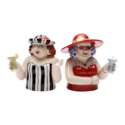 ATD - 2.75 Inch Sophisticated Ladies with Martinis Salt and Pepper Shakers - This gorgeous 2.75 Inch Sophisticated Ladies with Martinis Salt and Pepper Shakers has the finest details and highest quality you will find anywhere! 2.75 Inch Sophisticated Ladies with Martinis Salt and Pepper Shakers is truly remarkable.