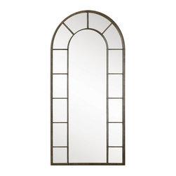 Uttermost - Uttermost 10505 Dillingham Black Arch Mirror - Uttermost 10505 Dillingham Black Arch Mirror