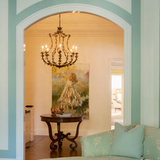 Traditional Entry by Catherine & McClure Interiors
