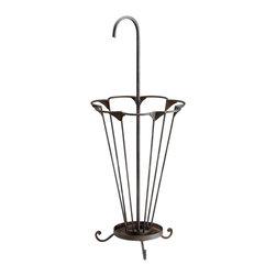 Cyan Design - Mildred Umbrella Stand - Mildred umbrella stand - raw steel